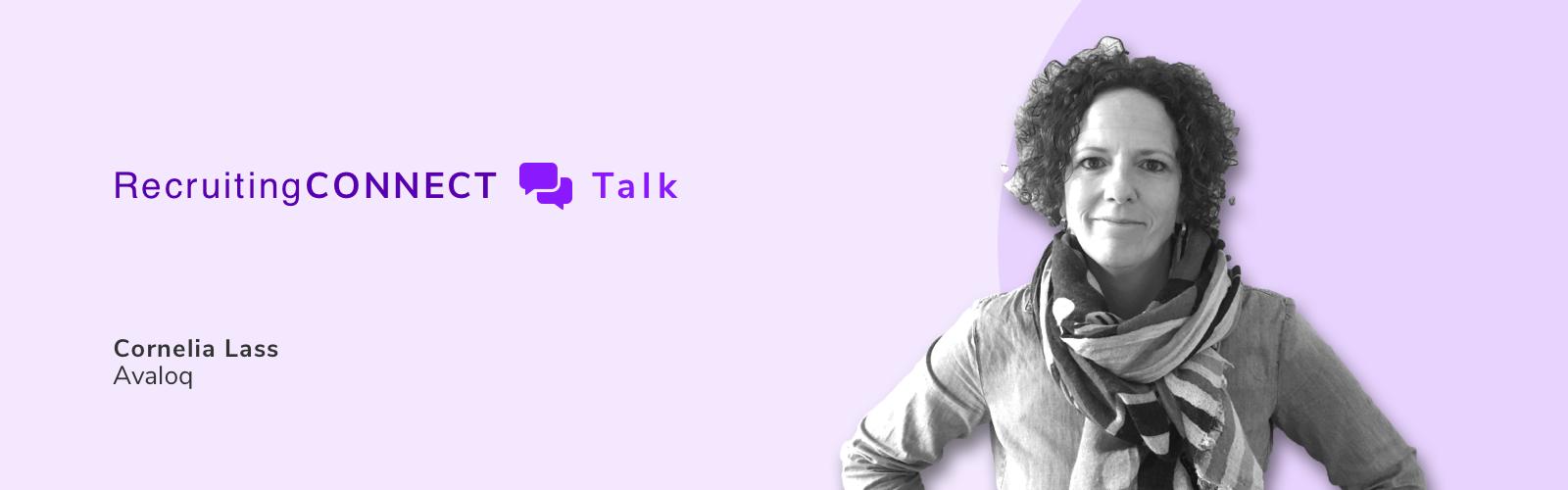 Talentry Webinar RecruitingCONNECT Talk Cornelia Lass Avaloq