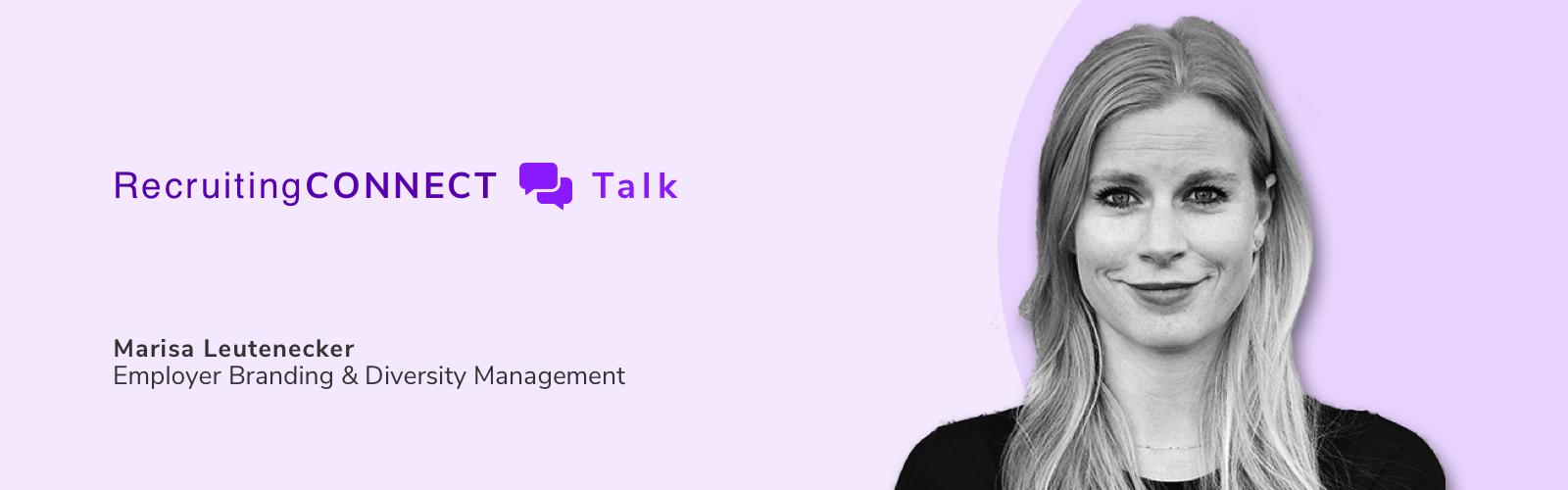 Talentry Webinar RecruitingCONNECT Talk Marisa Leutenecker