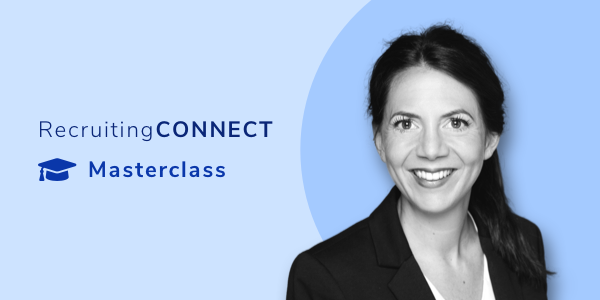 RecruitingCONNECT Masterclass Yvonne Riedel
