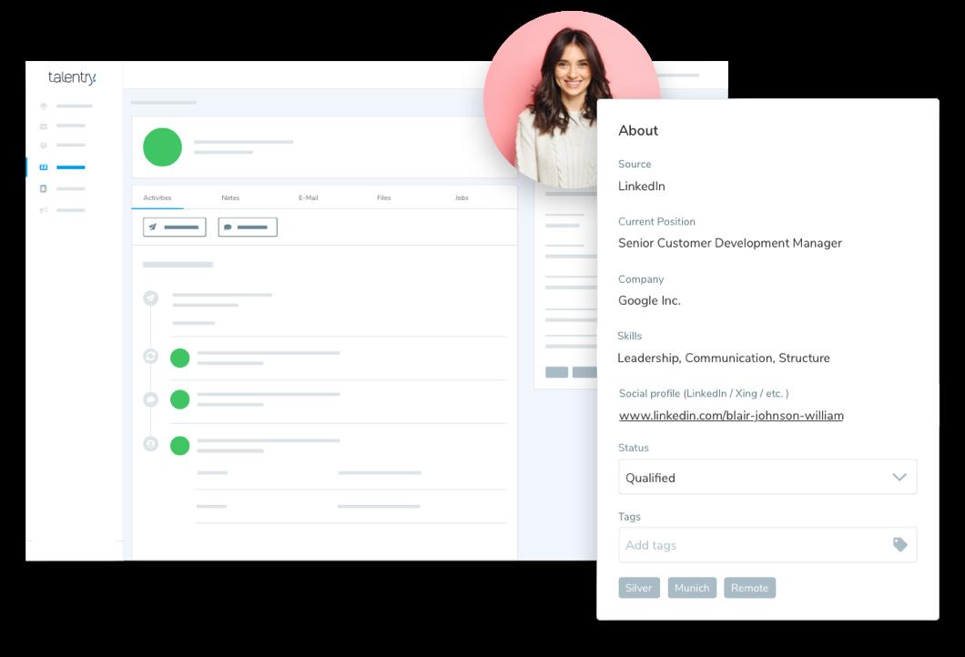 DSGVO-konformes Recruiting & Talent Relationship Management: zentrales Management