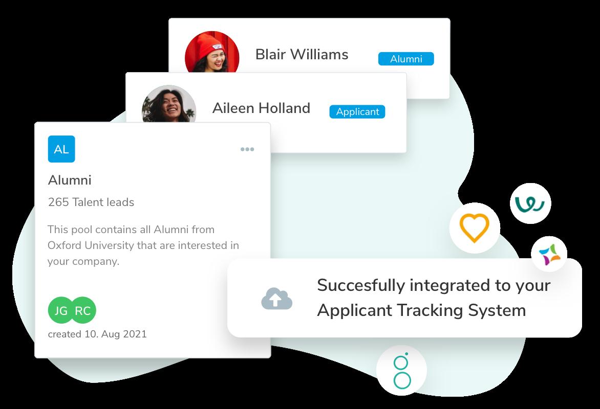 Talentry Alumni Management Software: ATS Integration