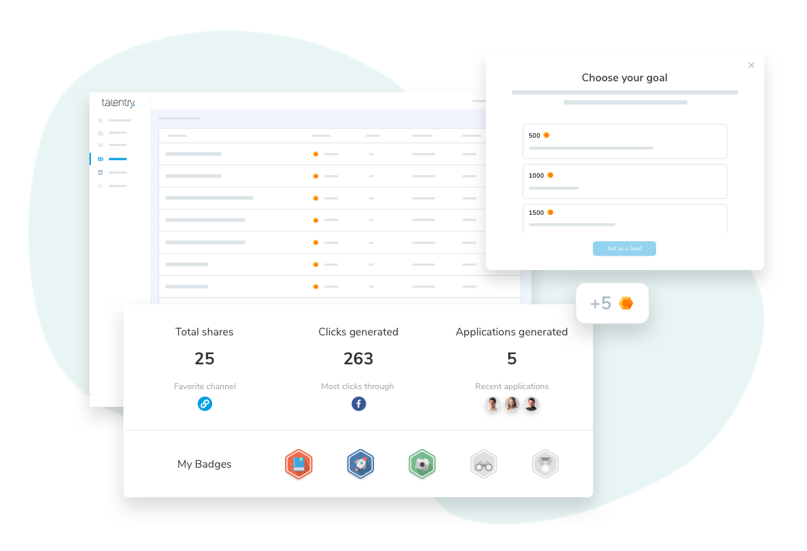 Talentry Employee Advocacy Software: Gamification