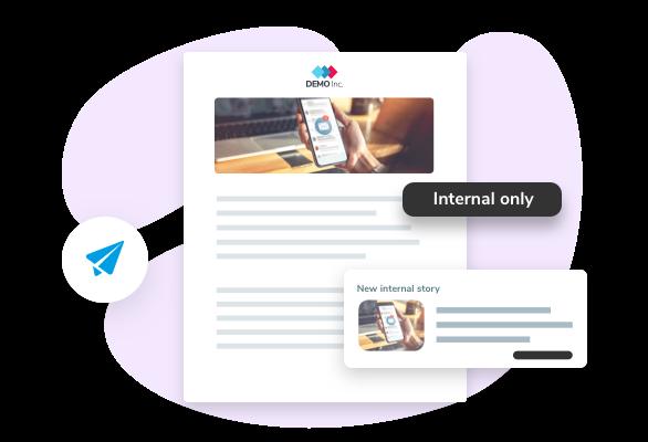 Talentry Employee Advocacy Software: Internal Communication