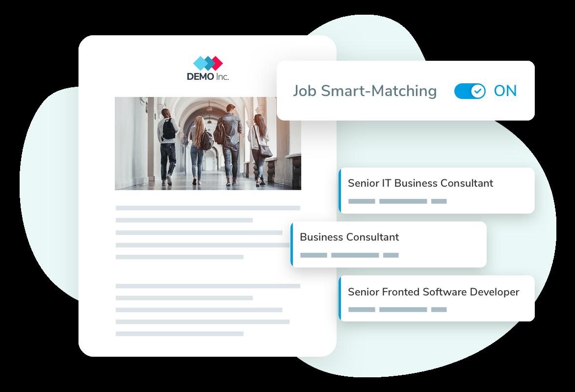 Talentry Employee Advocacy Software: Smart Job Matching
