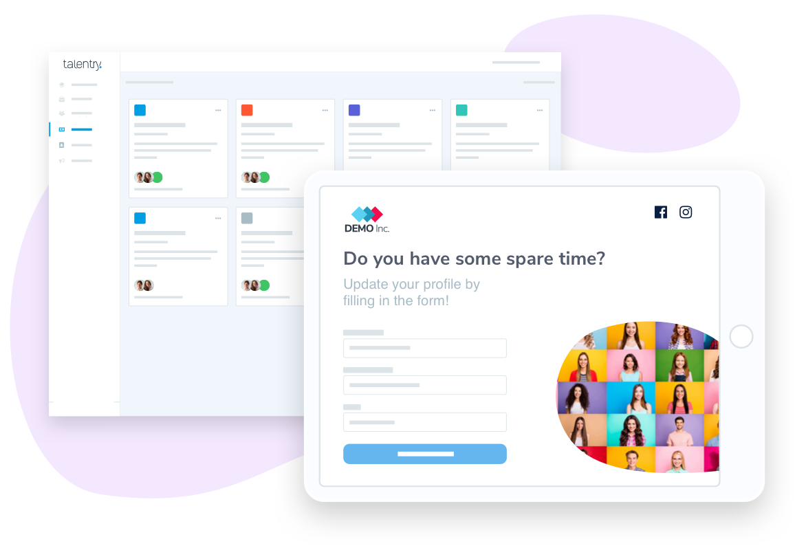 Talentry Recruiting Events Software & Talent Communities Software: Form Builder