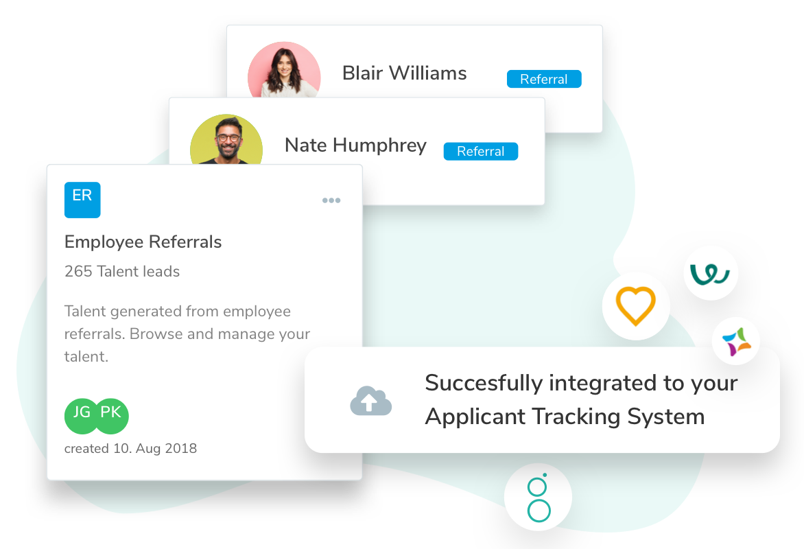 Talentry Employee Referral Software: ATS Integration