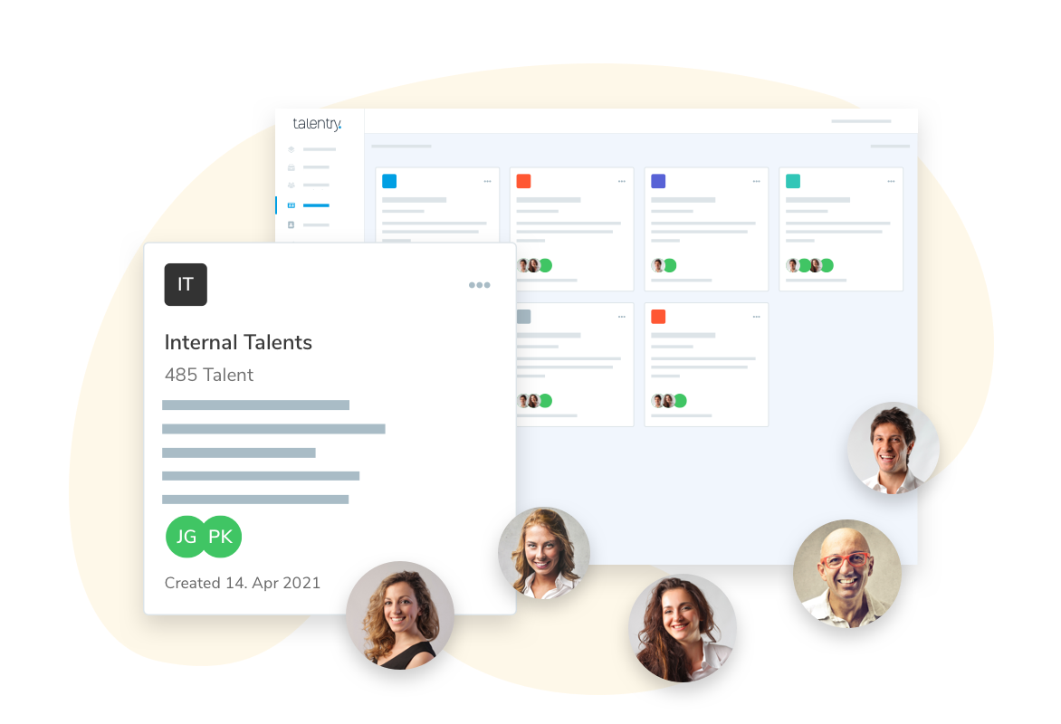 Talentry Internal Mobility Software: Talent Pools