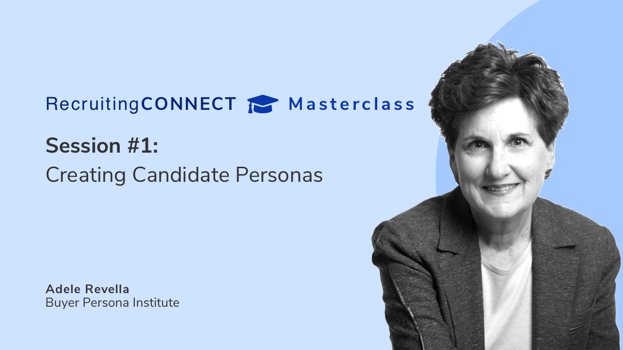 Talentry Masterclass with Adelle Revella: Creating Candidate Personas