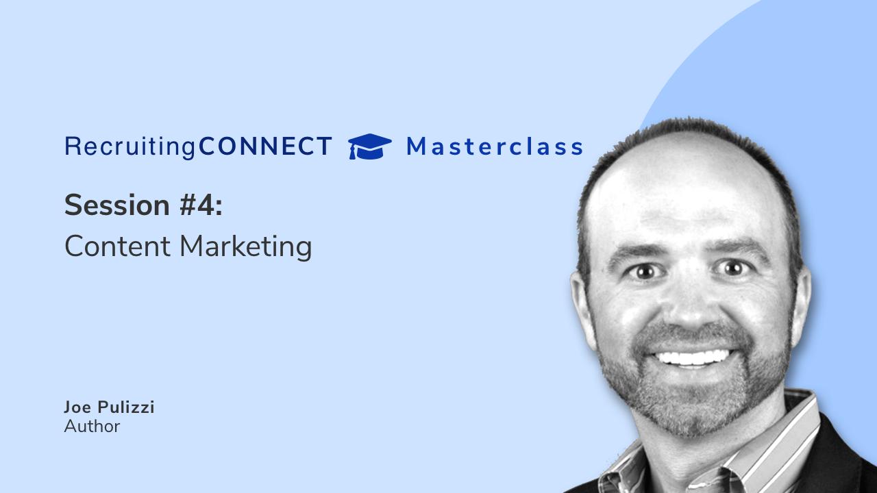 Talentry Masterclass with Joe Pulizzi: Content Marketing