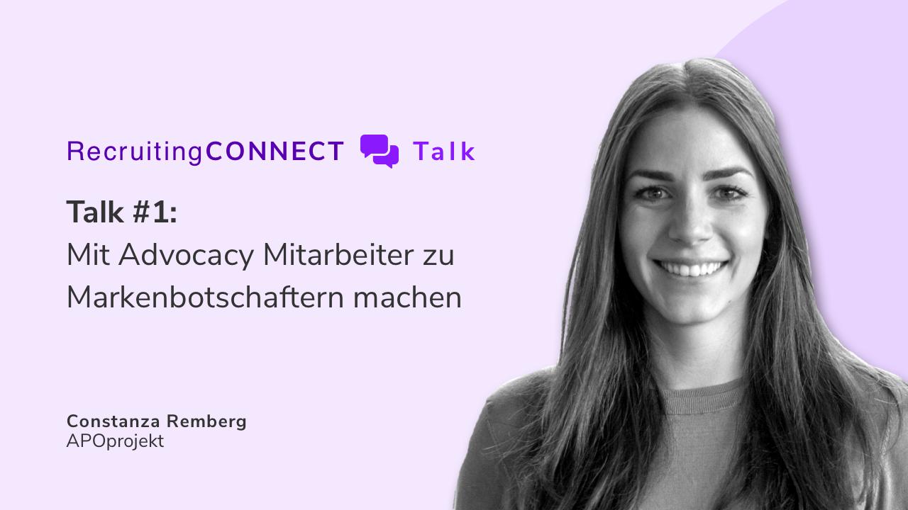 Talentry Webinar with Constanza Remberg, APOprojekt: Best Practice Employee Advocacy