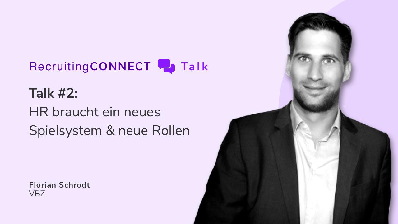 Talentry Webinar with Florian Schrodt, VBZ: HR braucht neue Rollen