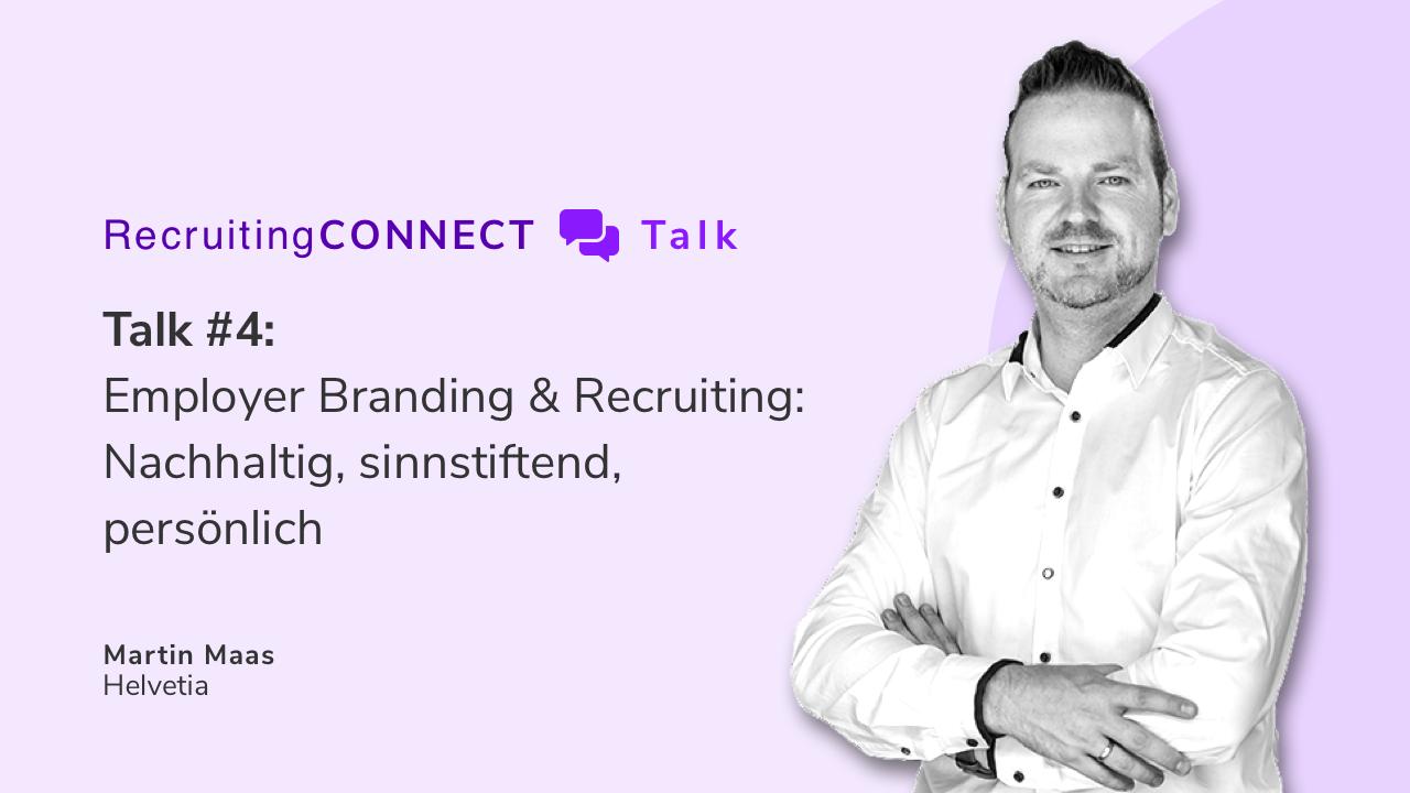 Talentry Webinar with Martin Maas, Helvetia: Employer Branding & Recruiting