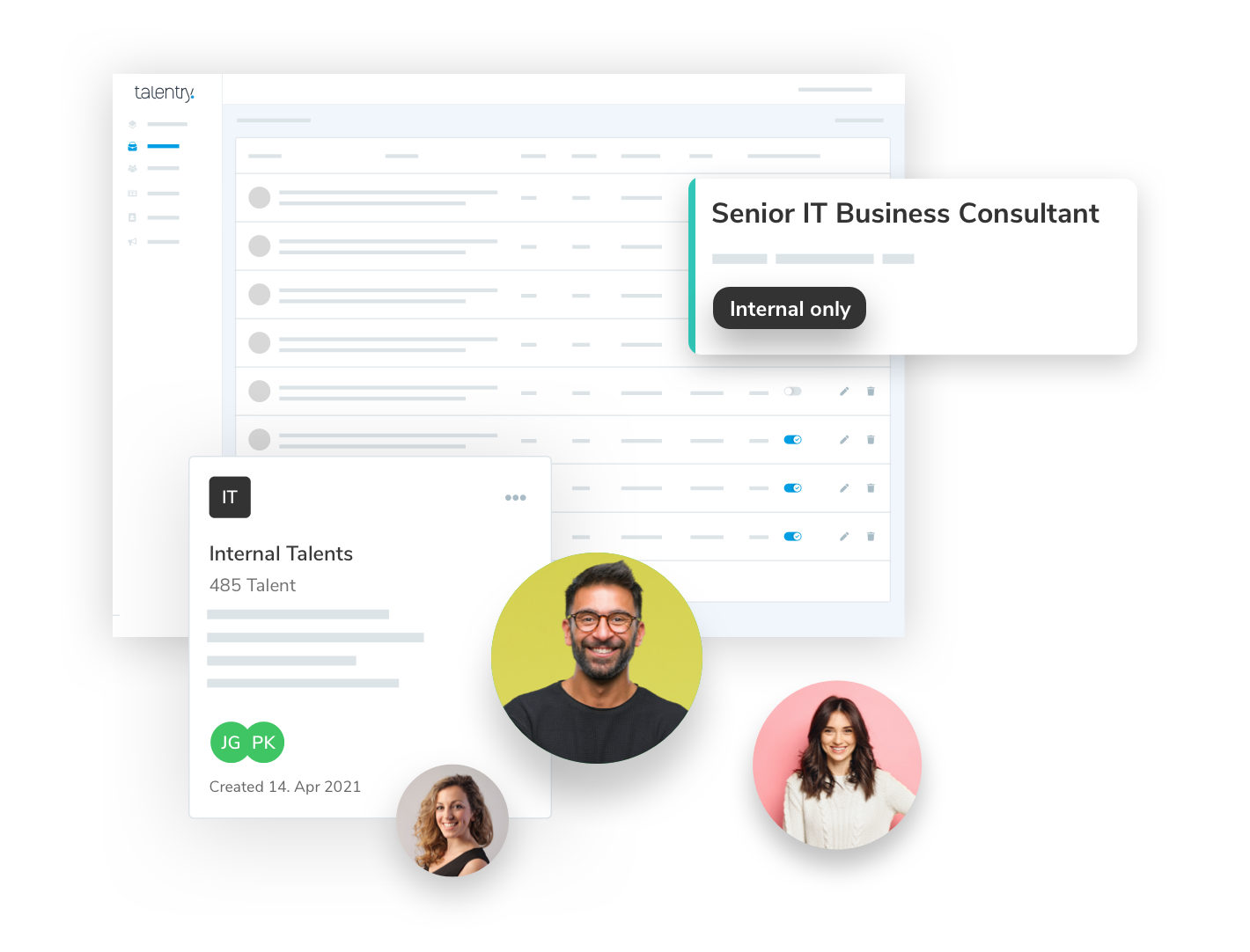 Talentry Talent Relationship Management Software to retain employees